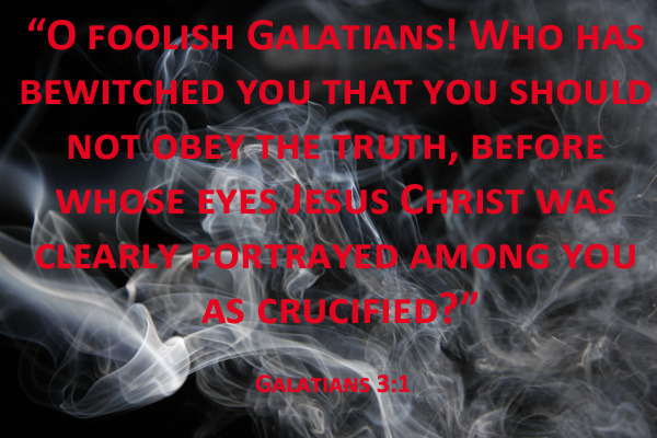galatians bewitched